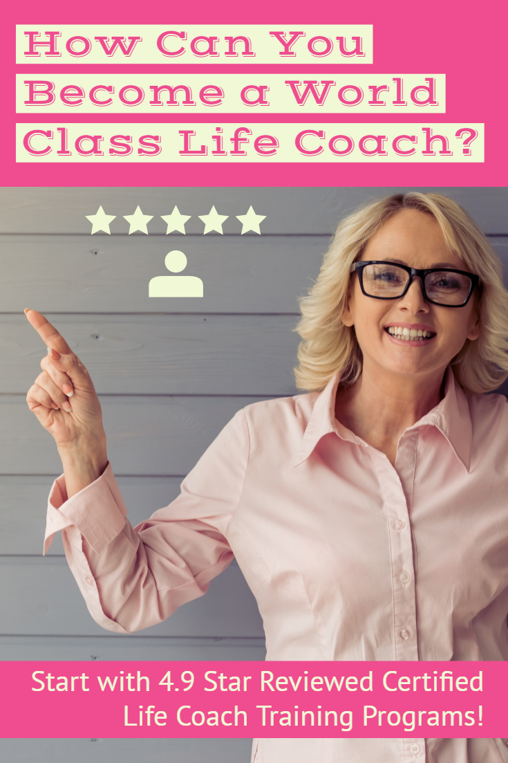 Become a World Class Life Coach with 4.9 Star Reviewed Life Coach Certification Programs #lifecoachingtools Become a World Class Life Coach with 4.9 Star Reviewed Life Coach Certification Programs The Most Complete, Affordable & Flexible Life Coach Certification Training.  All the Tools and Skills You'll Need to be an Effective Life Coach! This Online Life Coach Training Includes Three Professional Certifications:  Accredited Life Coach Certification (CLC & NCC) Accredited NLP Practitioner  Ce #lifecoachingtools