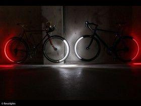 Strahlende Bike Innovation Revolights Fahrradlichter
