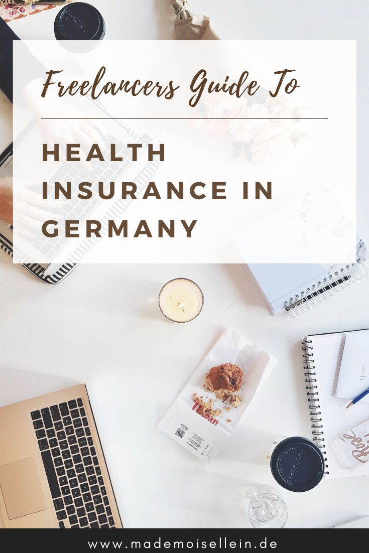 Health Insurance For Freelancers In Germany 2020 Update Health