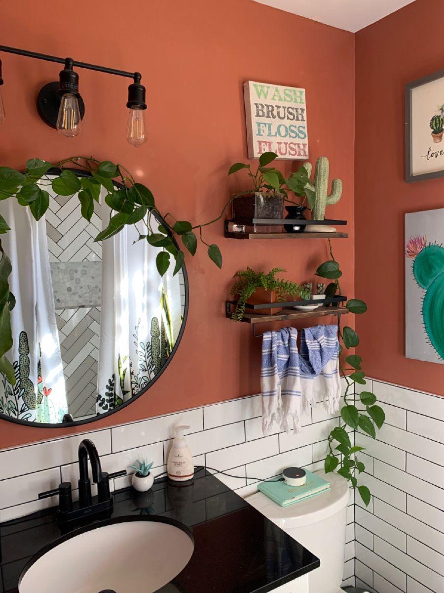 Small bathroom vanity in 20   Small bathroom decor, Bathroom ...