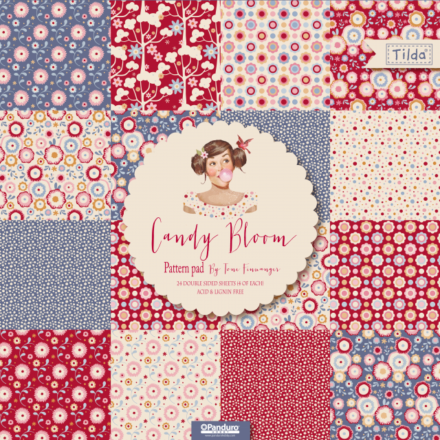 Pretty Handmade BCN: Tilda Fabric Collections 2016: Candy Bloom ...