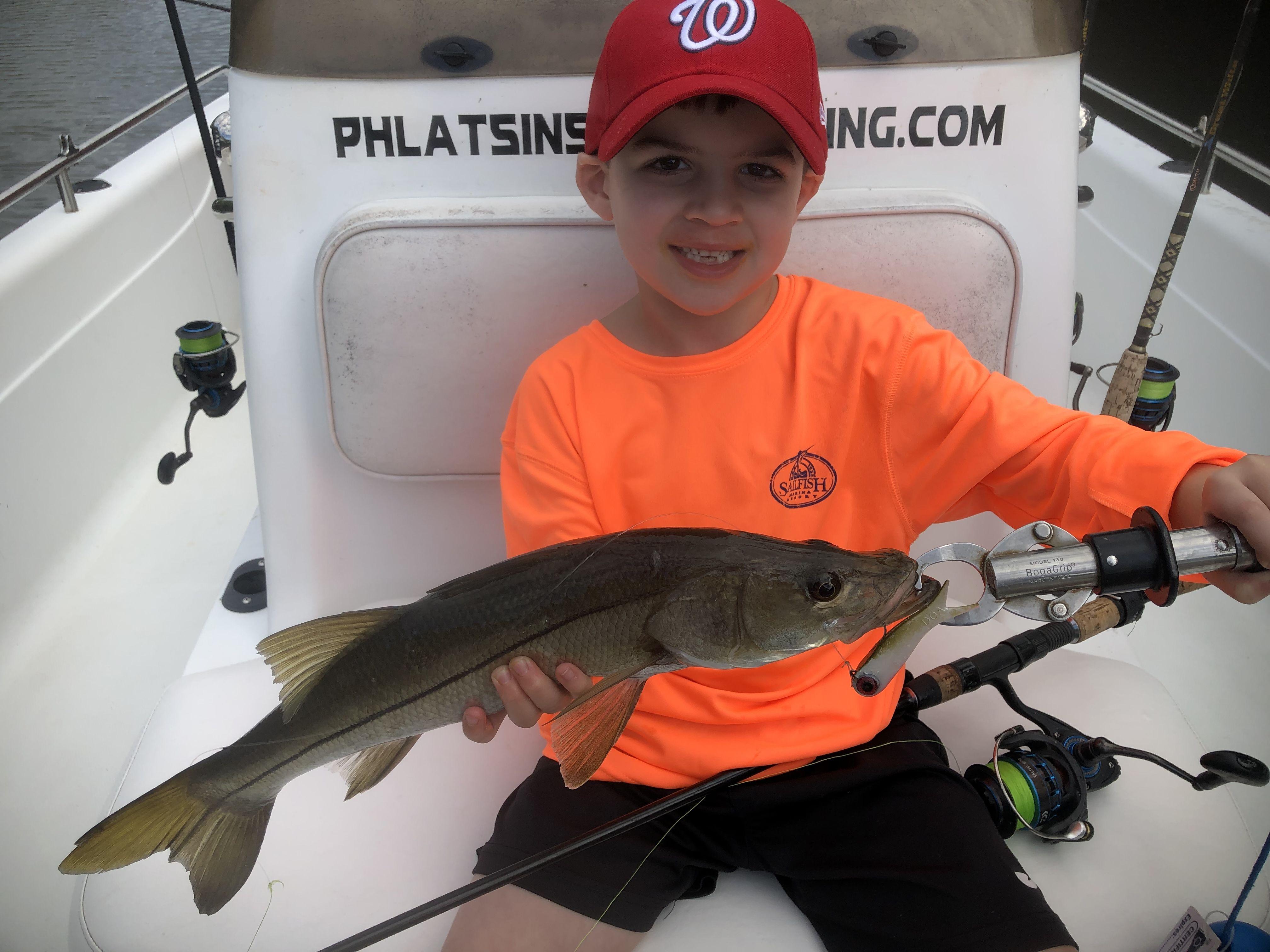 Teach them how to jig! Snook, Fish, Angler
