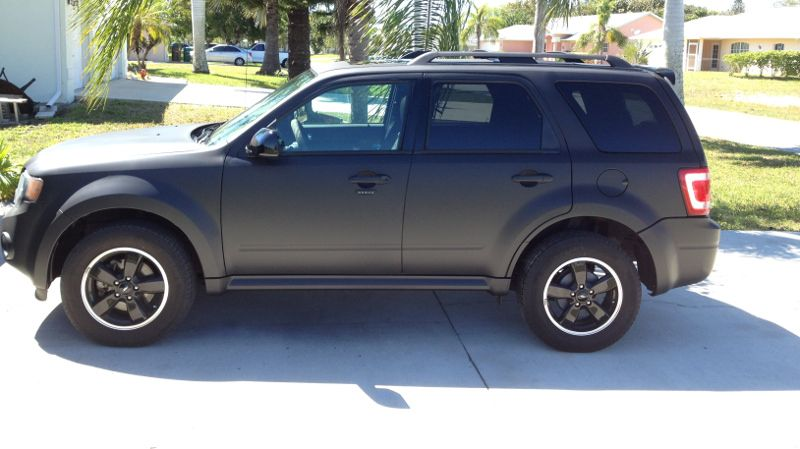 Ford Escape Matte Black Ford Escape Accessories Ford Escape