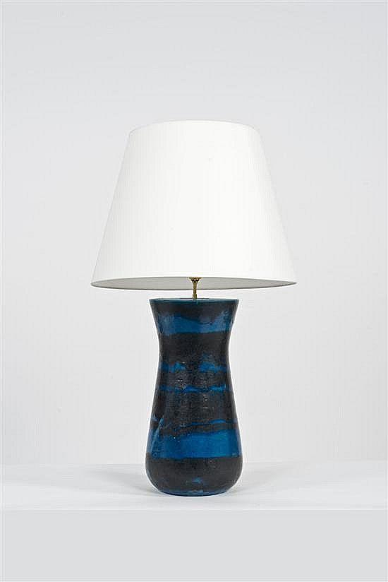 Design Italien Piasa Ceramic Lamp Lamp Vintage Mid Century Lamps