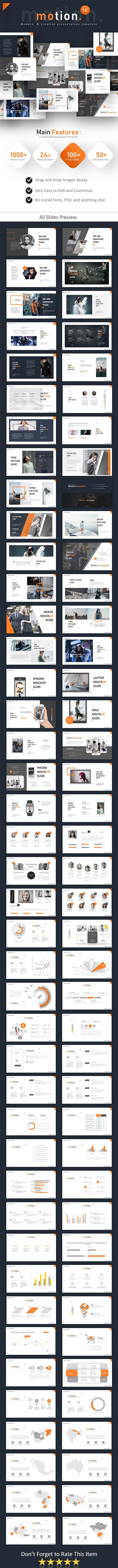 Motion Powerpoint Business Powerpoint Templates Template And