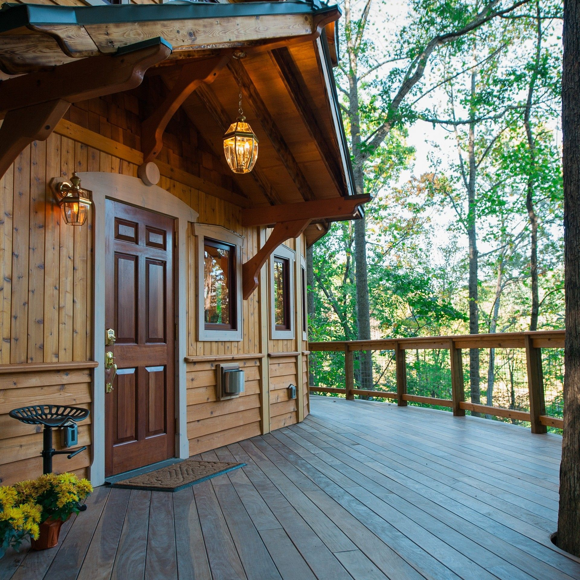 Venture To Treehouse Rentals In Nc Asheville Glamping