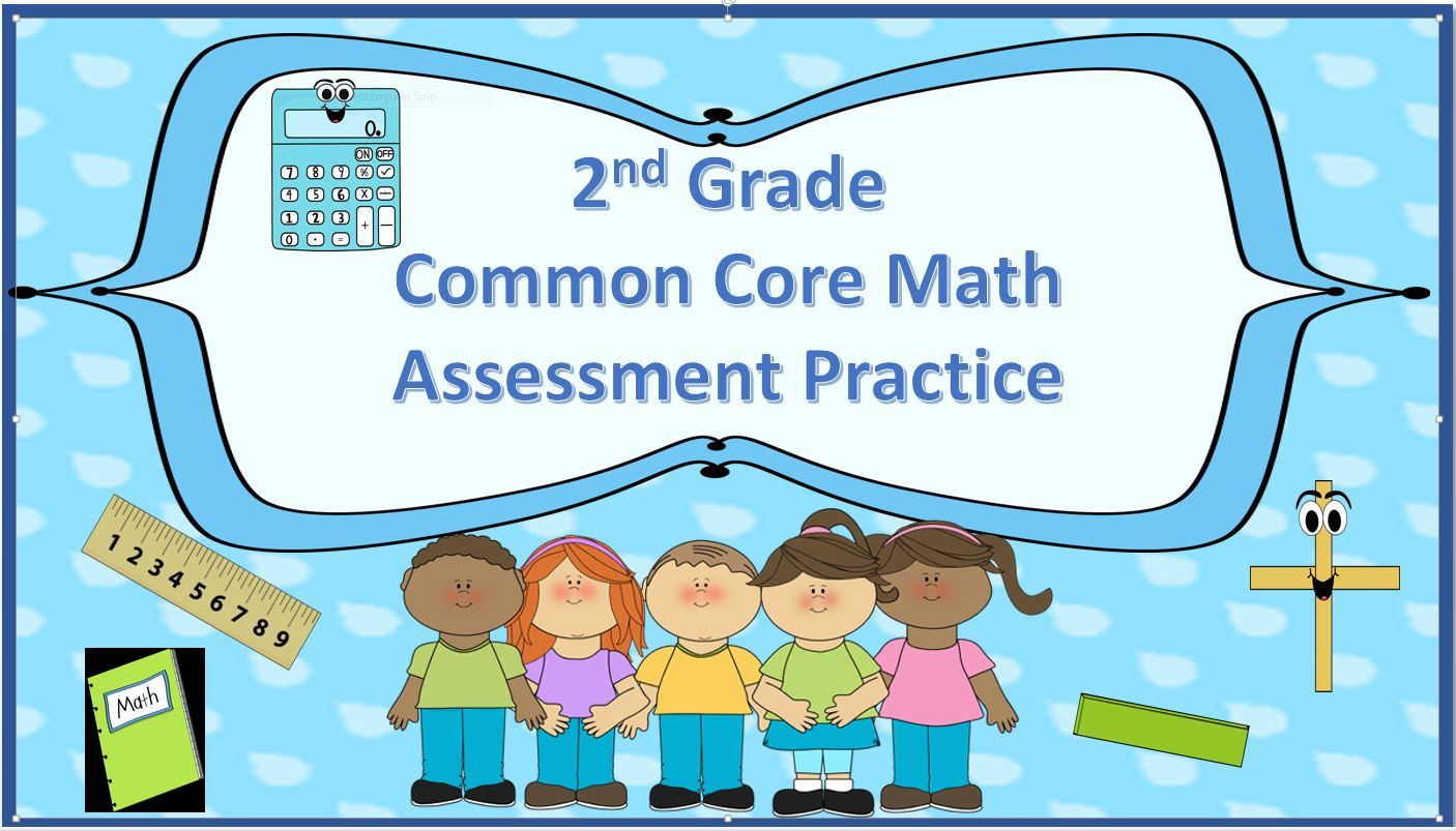 2nd grade end of the year math assessment   TPT Fun Math Resources ...