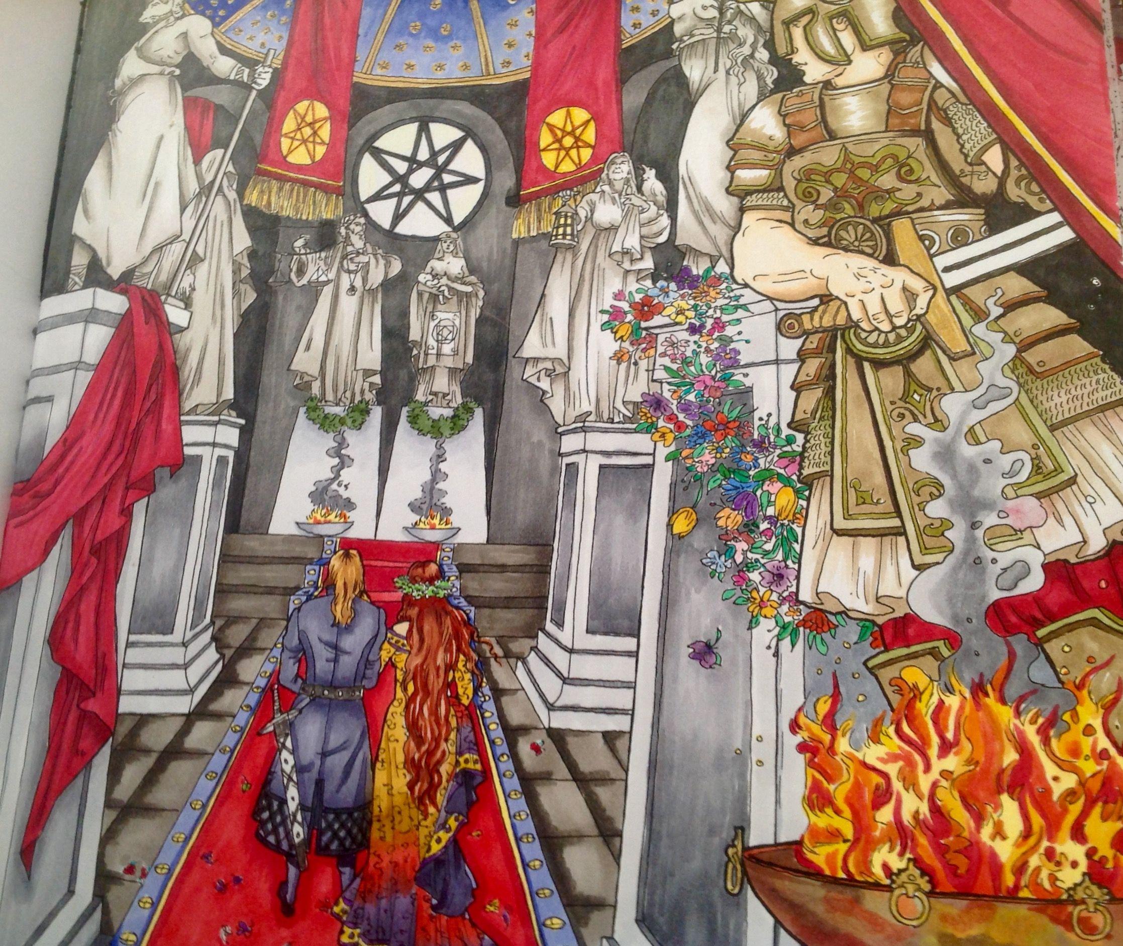 Copic coloring by Sonya Sena~Margason | Книжка-раскраска ...