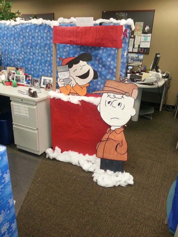 Office christmas decorating competition  christmas decor