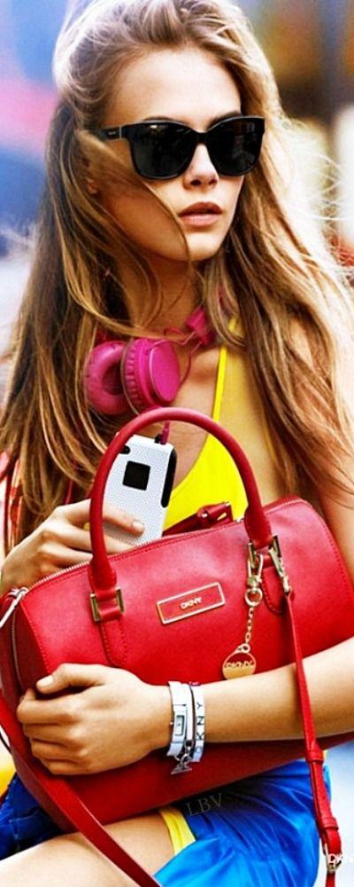 Cara Delevingne for DKNY | LBV ♥✤