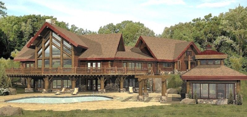 log house interior pictures | ... - Log Homes, Cabins and Log Home ...