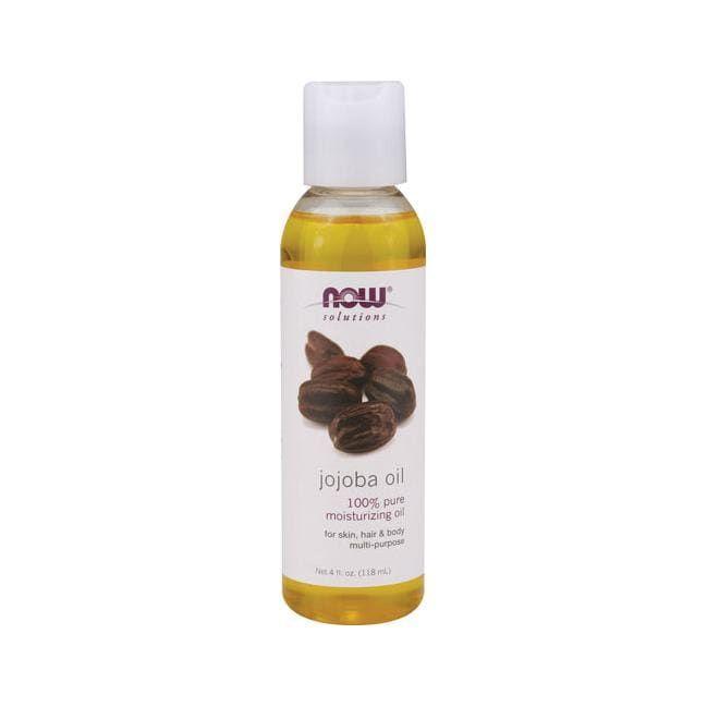 NOW Foods Jojoba Oil Pure   4 fl oz Liquid   Essential Oils