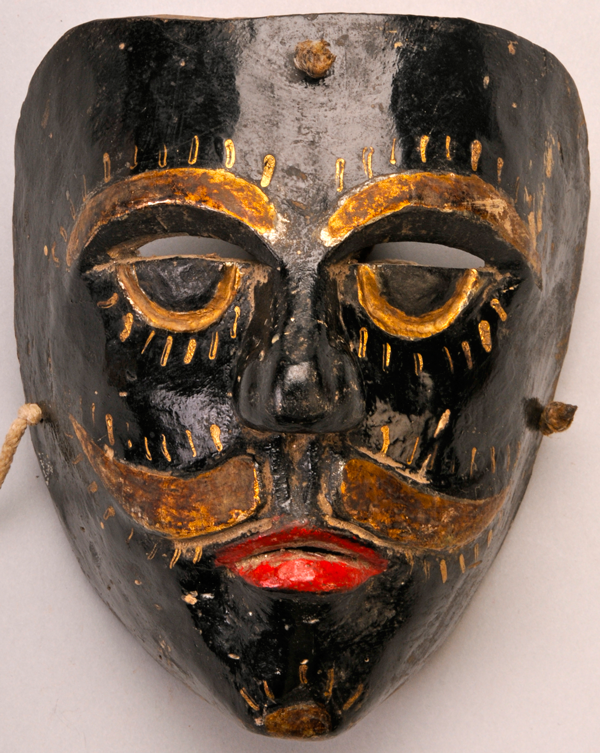 This lovely old mask was carved by José González Galindo of Coxquihui, Veracruz in about 1980.