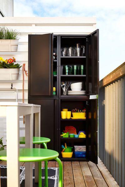 Ikea Balcon Meuble Pas Cher Shelves Rangement Balcon