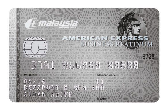 My ae 002 malaysia airlines american express mas platinum my ae 002 malaysia airlines american express mas platinum business card reheart Image collections