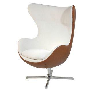 Muna Contemporary Egg Armchair 651 Chair Living Room