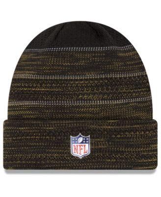650de85c New Era Jacksonville Jaguars Touchdown Cuff Knit Hat - Black/Gold ...