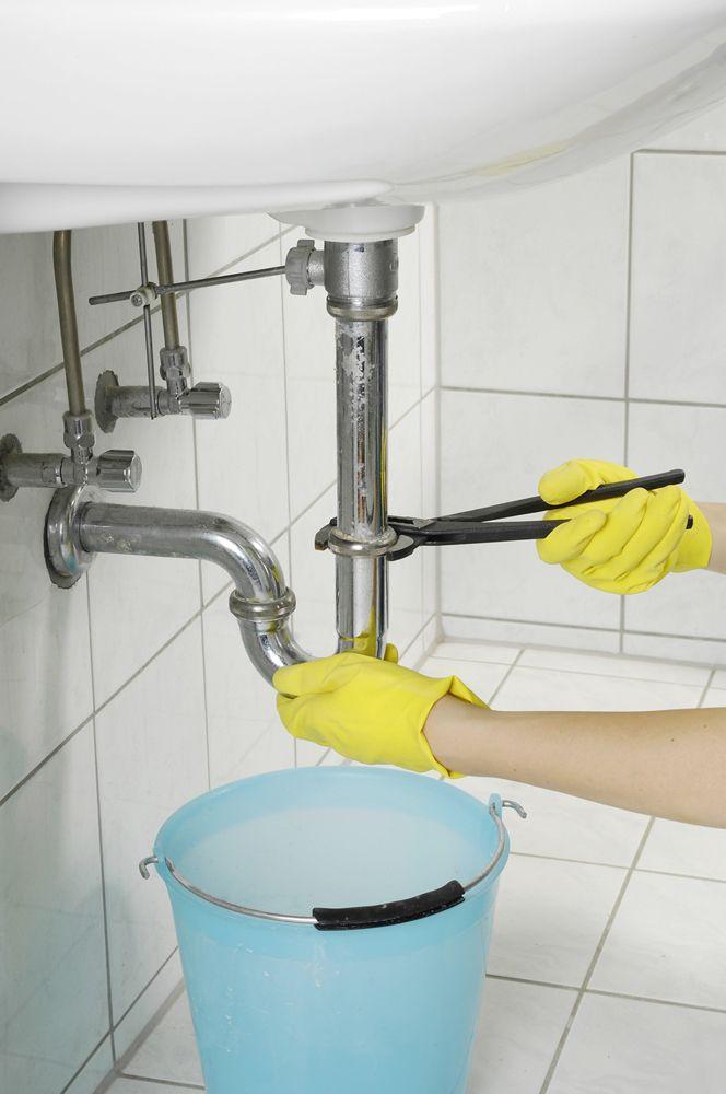 Verstopften99 Abfluss reinigen Siphon waschbecken