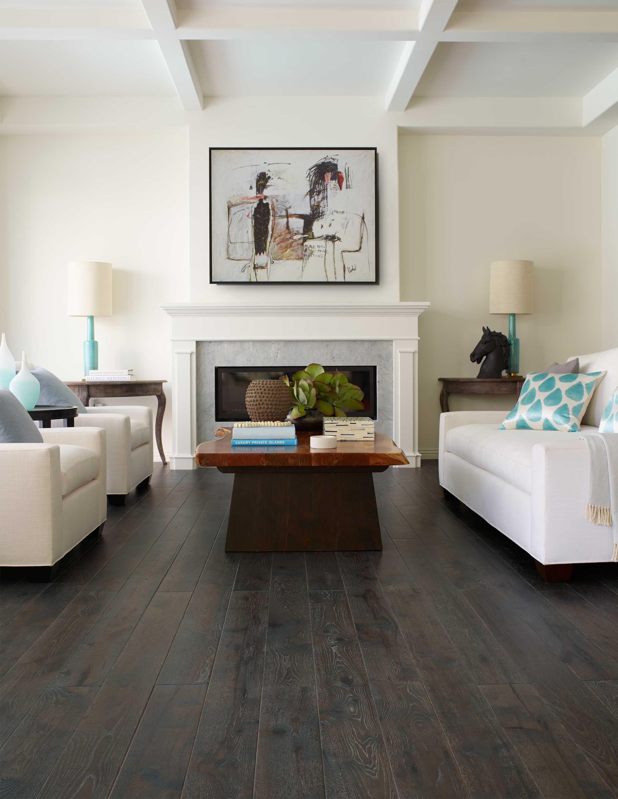 2 Tone Hardwood Flooring Bergamo Coal Hickory