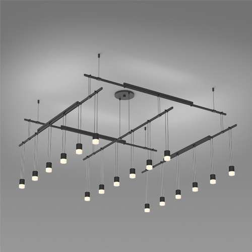 48 inch led light fixture lithonia sonneman suspenders 48 inch 2tier grid led lighting system suspended cylinder suspenders