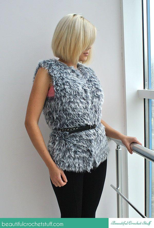 Free Easy Crochet Vest Pattern Tutorials By Jane Green Beautiful