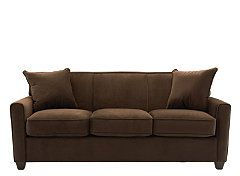 Terrific Parker Microfiber Queen Sleeper Sofa Furniture Ocoug Best Dining Table And Chair Ideas Images Ocougorg