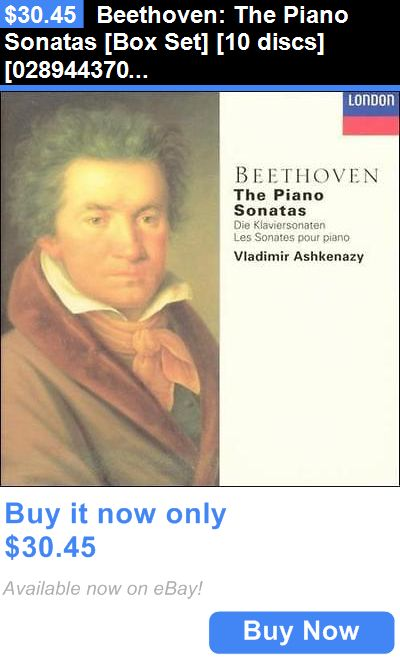 Music Albums: Beethoven: The Piano Sonatas [Box Set] [10 Discs] [028944370621] New Cd BUY IT NOW ONLY: $30.45