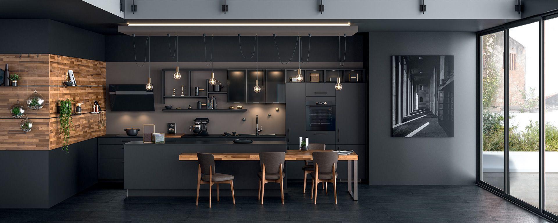 41++ Facade cuisine noir mat trends