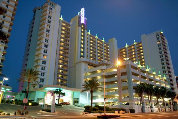 Daytona Beach Fl Wyndham Ocean Walk Florida
