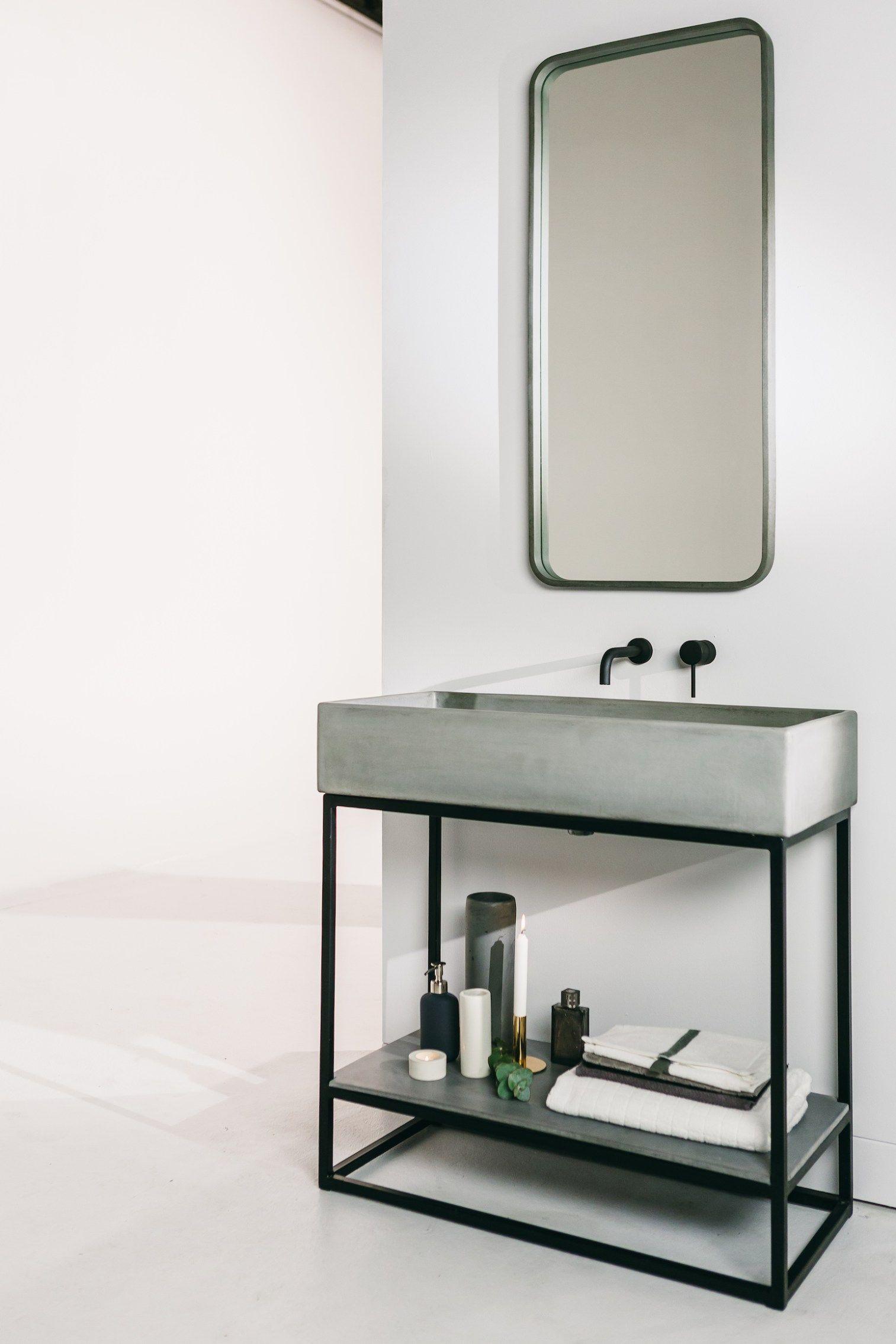 Lavabo design cemento - complementi d\'arredo bagno - Nood Co ...