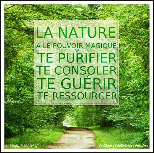 Le Pouvoir De La Nature Citation Nature Citations