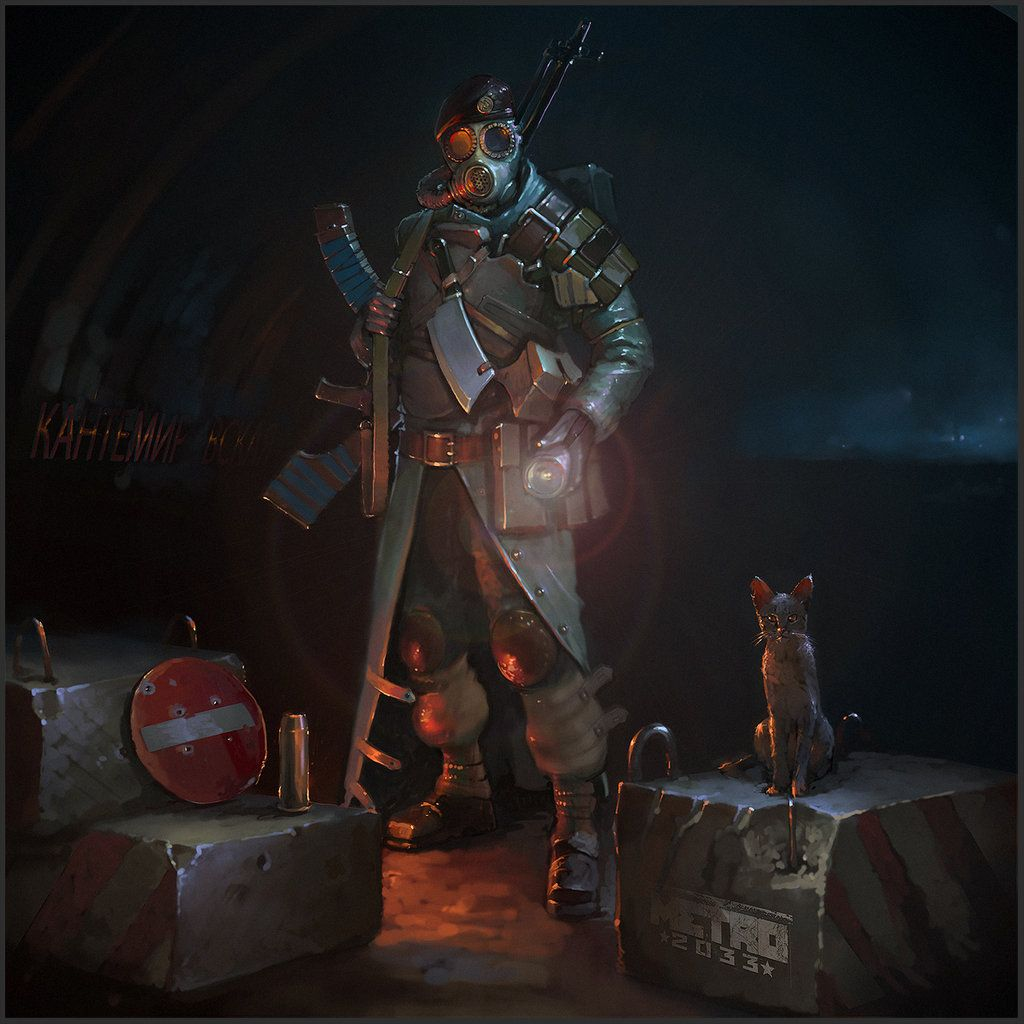 Apocalyptic Soldier Pics: Kantemirovskaya Fighter By Genek.deviantart.com On