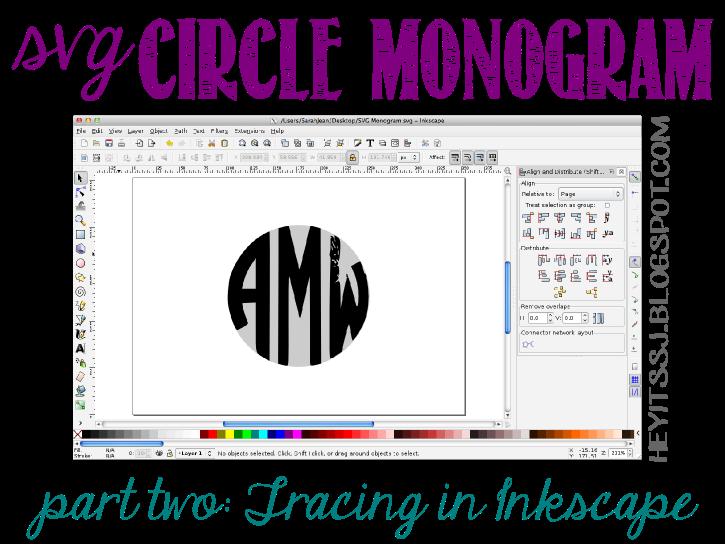 DidItMyself SVG Monogram Tutorial Cricut tutorials