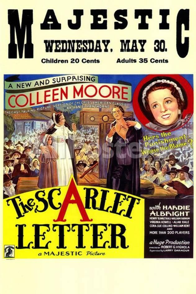 The Scarlet Letter Movies Masterprint 28 x 43 cm (With