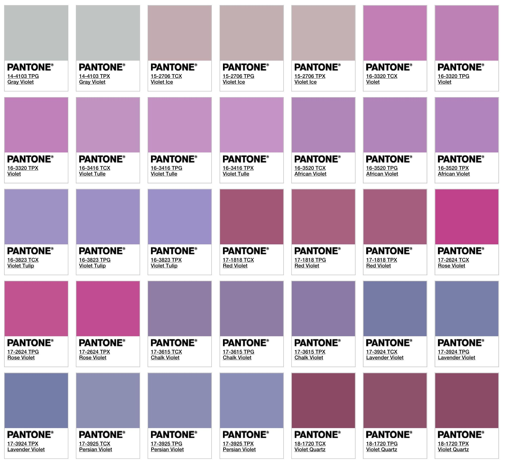 Color That Matches With Purple