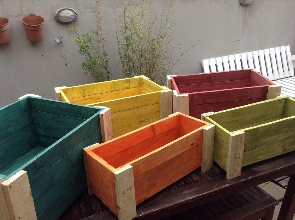 Resultado de imagen para maceteros de madera - Maceteros de madera ...