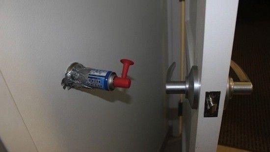 funny photos  funny pictures  pranks  bedroom pranks  dorm pranks  airhorn  door. Pinterest   The world s catalog of ideas