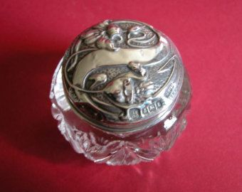 Antique Boots Pure Drug Company Art Nouveau Hallmarked Silver Cream Jar - Edit Listing - Etsy