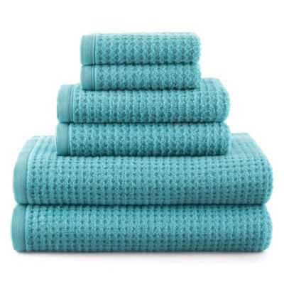 Jcpenney Jcpenney Home Quick Dri Solid Bath Towels