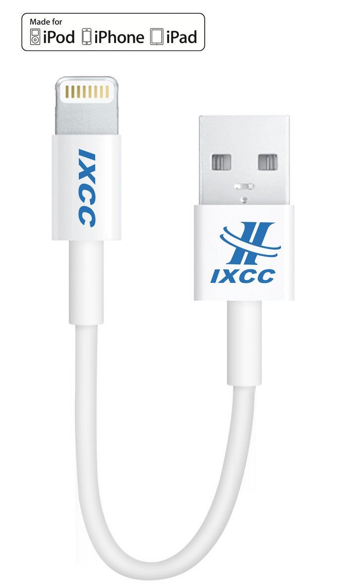 [Apple MFI Certified] iXCC ® Lightning Cable 4-inch