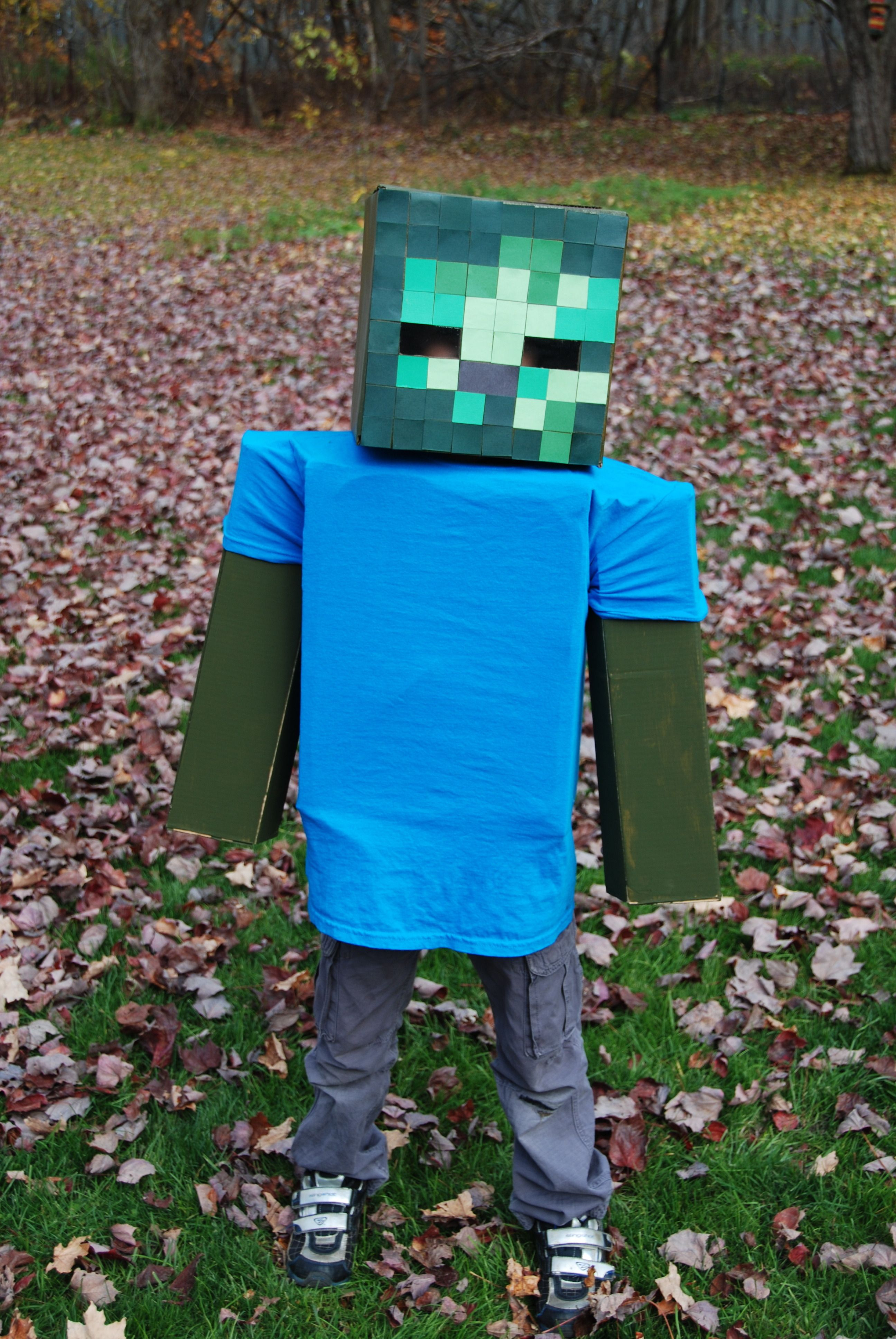 8 Disfraz de Zombie de Minecraft ideas  zombie costume, zombie