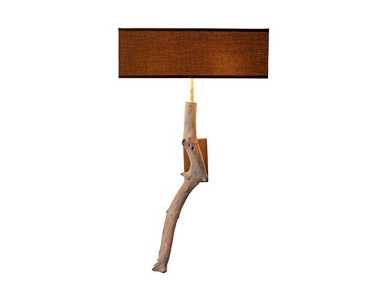 Applique en bois PAILLOTTE by Bleu Nature design Bastien Taillard, Frank Lefebvre
