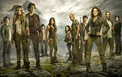 #The100 - Review of the New Apocalyptic Series Aimed at Young Adults. NINE out of Ten Star Rating!!!