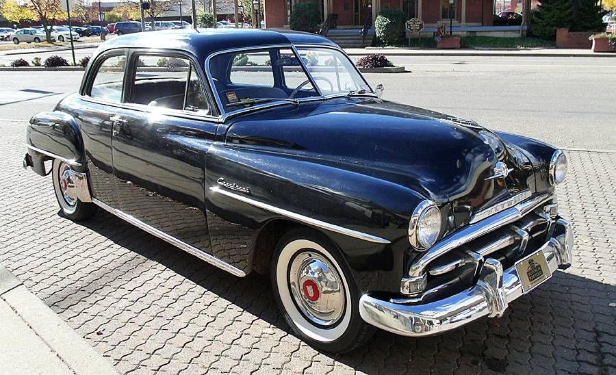 1952 Plymouth Cranbrook P 23 Plymouth Plymouth Cars Cranbrook