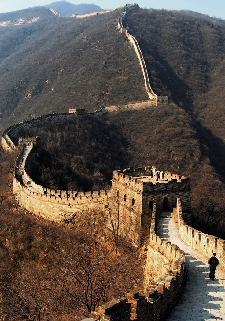 The Great Wall of China in Beijing. #Beijing #China #GreatWall