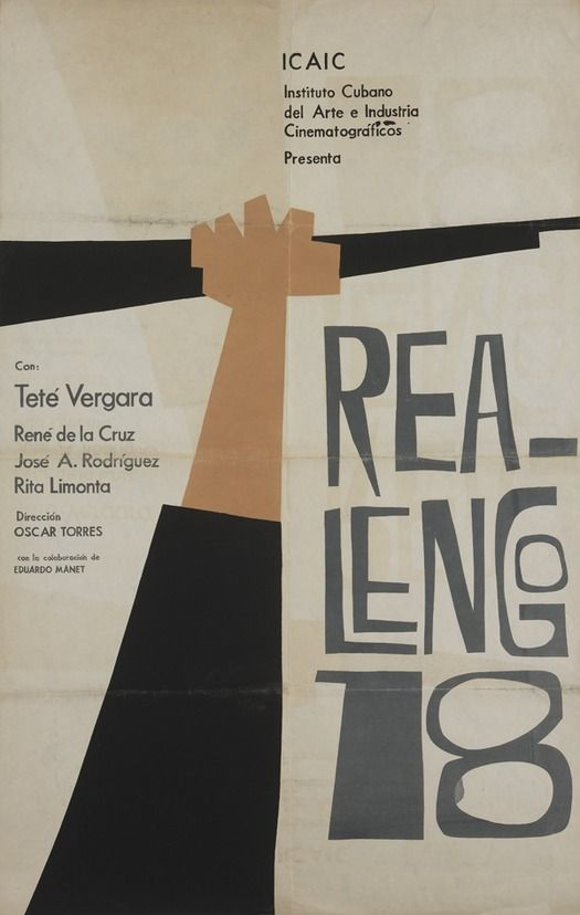 50 Years Of Cuban Film Posters Graphic Design Posters Film Posters Poster