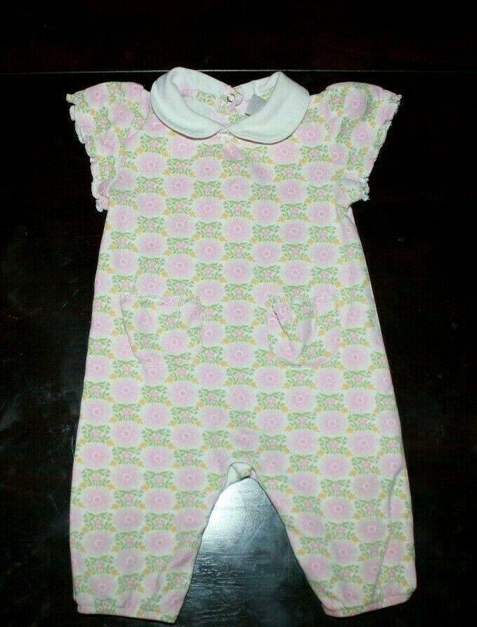 a0d3273b786d Baby Gap Girls Toddler Easter Bunny Floral Dress Romper jumpsuit One ...