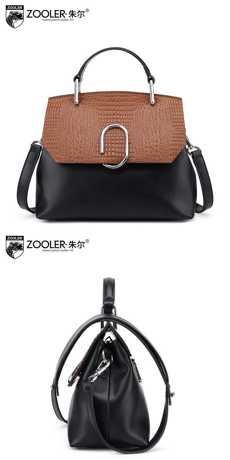 38af3335ee  Visit to Buy  ZOOLER2016 new high-quality luxury fashion brand handbag  serpentine leather
