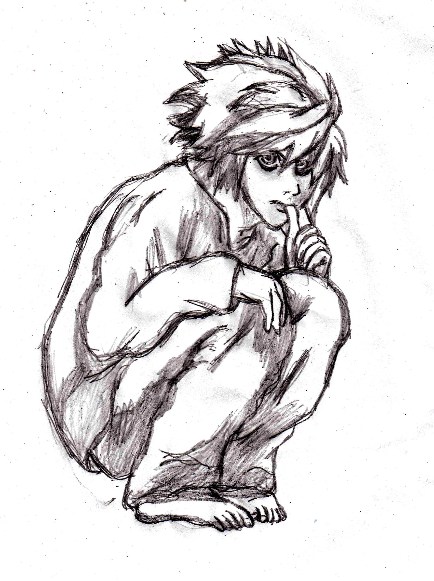 L from Death Note, anime, manga, drawing tutorial http