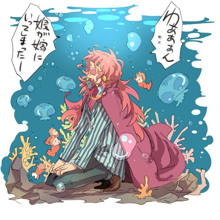 Ponyo Fanart Google Search ジブリ イラスト かわいい ジブリ イラスト フジモト